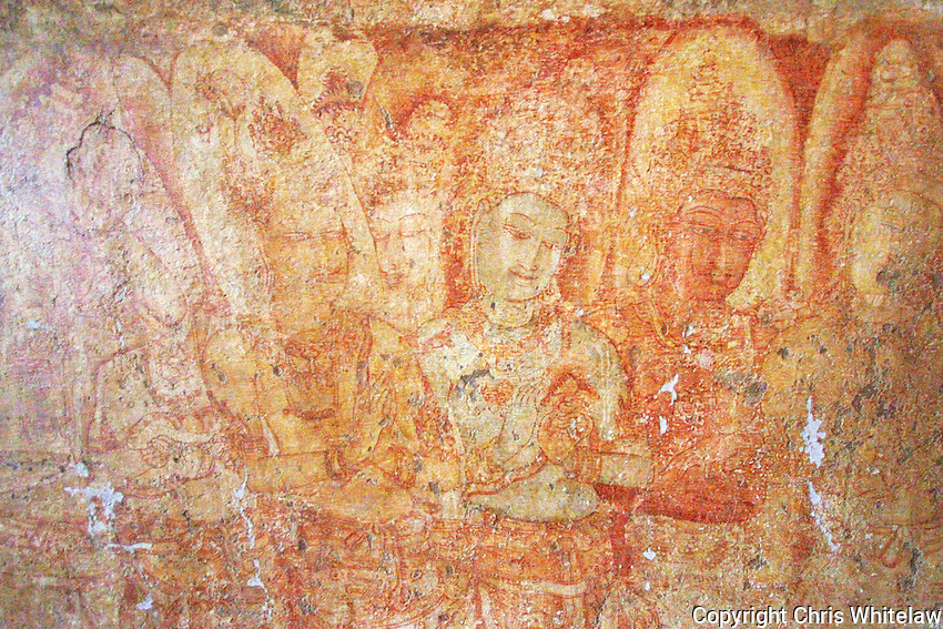 12_Frescos in the Thivanka Image House, Polonnaruwa