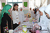 QUEEN RANIA<br /> attended a health open-day held by the Royal Health Awareness Society (RHAS) at Khadeeja Um Il Mo&rsquo;mineen School for Girls in Irbid, Jordan<br /> Queen Rania visited the different classes including that for culinary production_16/09/2013<br /> Mandatory Credit Photos: Royal Hashemite Court/NEWSPIX INTERNATIONAL<br /> <br /> **ALL FEES PAYABLE TO: &quot;NEWSPIX INTERNATIONAL&quot;**<br /> <br /> PHOTO CREDIT MANDATORY!!: NEWSPIX INTERNATIONAL(Failure to credit will incur a surcharge of 100% of reproduction fees)<br /> <br /> IMMEDIATE CONFIRMATION OF USAGE REQUIRED:<br /> Newspix International, 31 Chinnery Hill, Bishop's Stortford, ENGLAND CM23 3PS<br /> Tel:+441279 324672  ; Fax: +441279656877<br /> Mobile:  0777568 1153<br /> e-mail: info@newspixinternational.co.uk