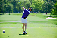 Brittany Altomare (USA) watches her tee shot on 2 during Saturday's round 3 of the 2017 KPMG Women's PGA Championship, at Olympia Fields Country Club, Olympia Fields, Illinois. 7/1/2017.<br /> Picture: Golffile | Ken Murray<br /> <br /> <br /> All photo usage must carry mandatory copyright credit (&copy; Golffile | Ken Murray)