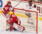 Alexis Crossley (BU - 25), Erin O'Neil (BU - 31), Delaney Belinskas (BC - 17) - The Boston College Eagles defeated the visiting Boston University Terriers 5-3 (EN) on Friday, November 4, 2016, at Kelley Rink in Conte Forum in Chestnut Hill, Massachusetts.The Boston College Eagles defeated the visiting Boston University Terriers 5-3 (EN) on Friday, November 4, 2016, at Kelley Rink in Conte Forum in Chestnut Hill, Massachusetts.