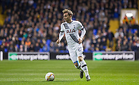 Christian Eriksen of Tottenham Hotspur in action during the UEFA Europa League Group J match between Tottenham Hotspur and R.S.C. Anderlecht at White Hart Lane, London, England on 5 November 2015. Photo by Andy Rowland.