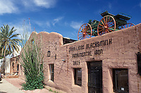 Scottsdale, Arizona, AZ, Cavalliere Blacksmith Shop in Old Town Scottsdale in downtown Scottsdale.