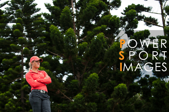 TAOYUAN, TAIWAN - OCTOBER 28:  Suzann Pettersen stands on the 2nd hole during the day four of the Sunrise LPGA Taiwan Championship at the Sunrise Golf Course on October 28, 2012 in Taoyuan, Taiwan.  Photo by Victor Fraile / The Power of Sport Images