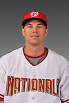 14 March 2008: ..Portrait of Joe Napoli, Washington Nationals Minor League player at Spring Training Camp 2008..Mandatory Photo Credit: Ed Wolfstein Photo