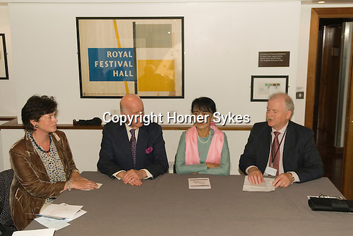 Aung San Suu Kyi. Trustees' Meeting Meeting Meeting Prospect Burma. Royal Festival Hall London UK 22 June 2012