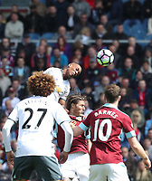 Burnley's Jeff Hendrick<br /> <br /> Photographer Rachel Holborn/CameraSport<br /> <br /> The Premier League - Burnley v Manchester United - Sunday 23rd April 2017 - Turf Moor - Burnley<br /> <br /> World Copyright &copy; 2017 CameraSport. All rights reserved. 43 Linden Ave. Countesthorpe. Leicester. England. LE8 5PG - Tel: +44 (0) 116 277 4147 - admin@camerasport.com - www.camerasport.com