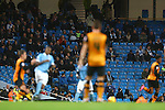 A swathe of empty seats during play - Manchester City vs Hull City - Capital One Cup - Etihad Stadium - Manchester - 01/12/2015 Pic Philip Oldham/SportImage