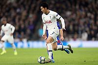 Son Heung-Min of Tottenham Hotspur  during Tottenham Hotspur vs Olympiacos FC, UEFA Champions League Football at Tottenham Hotspur Stadium on 26th November 2019