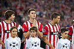 ATHLETIC CLUB-SHAKHTAR DONETS during the campions league<br /> turraspe<br /> laporte<br /> de marcos<br /> PHOTOCALL3000