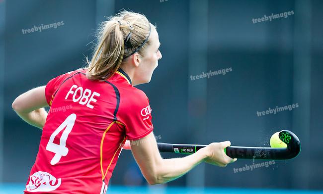 27/06/2015<br /> HWL Semi Final Antwerp Belgium 2015<br /> New Zealand v Belgium Women<br /> Aline Fobe<br /> Photo: Grant Treeby