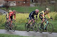 Wout van Aert (BEL/Jumbo - Visma) up the Rekelberg<br /> <br /> 75th Omloop Het Nieuwsblad 2020 (1.UWT)<br /> Gent to Ninove (BEL): 200km<br /> <br /> ©kramon