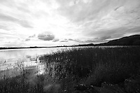 General view of Lake of Menteith, Trossachs.