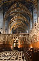 Europe/France/Midi-Pyrénées/81/Tarn/ Albi: La Cathédrale Ste-Cécile - Le Jubé, les stalles et la voute de la nef