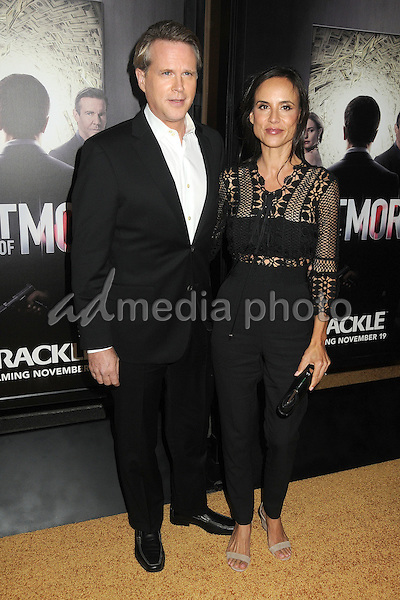 """29 October 2015 - Culver City, California - Cary Elwes, Lisa Marie Kubikoff. """"The Art Of More"""" Series Premiere held at Sony Pictures Studios. Photo Credit: Byron Purvis/AdMedia"""