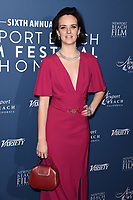 Charlotte Carroll<br /> arriving for the Newport Beach Film Festival UK Honours 2020, London.<br /> <br /> ©Ash Knotek  D3551 29/01/2020