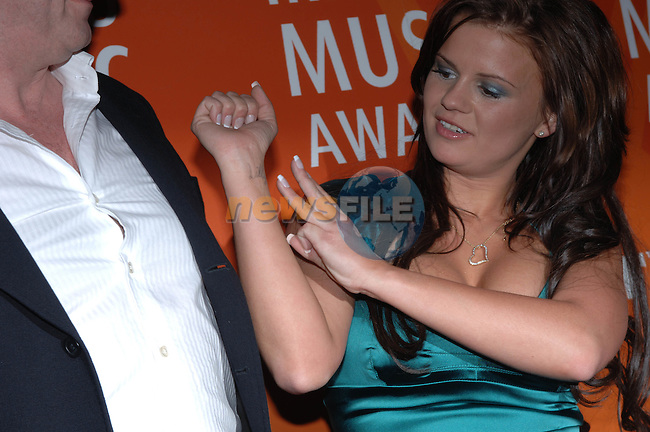 Kerry Katona at the  Meteor Awards at the Point Depot in Dublin.Photo NEWSFILE/Colin Bell..(Photo credit should read Colin Bell/NEWSFILE)...This Picture has been sent you under the condtions enclosed by:.Newsfile Ltd..the Studio,.Millmount Abbey,.Drogheda,.Co Meath..Ireland..Tel: +353(0)41-9871240.Fax: +353(0)41-9871260.GSM: +353(0)86-2500958.email: pictures@newsfile.ie.www.newsfile.ie.FTP: 193.120.102.198..This picture is from Fran Caffrey@newsfile.ie