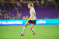Orlando, FL - Saturday August 12, 2017: Nikki Stanton during a regular season National Women's Soccer League (NWSL) match between the Orlando Pride and Sky Blue FC at Orlando City Stadium.