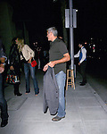 June 7th 2012   Thursday night ....George Clooney & Stacy Keibler went on a double date with Cindy Crawford & Rande Gerber after eating at Spago restaurant in Beverly Hills. The two couples hugged each other goodbye before getting into their cars. ...AbilityFilms@yahoo.com.805-427-3519.www.AbilityFilms.com..