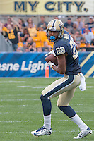 Pitt wide receiver Tyler Boyd. Iowa Hawkeyes defeated the Pitt Panthers 24-20 at Heinz Field, Pittsburgh Pennsylvania on September 20, 2014.