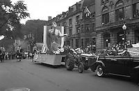 Montreal, CANADA, June 1947 Saint-Jean-Baptiste Parade