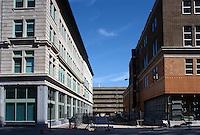 1996 April 01..Redevelopment..Macarthur Center.Downtown North (R-8)..FREEMASON GARAGE DEMO STUDY PHOTO.TO MATCH DRAWING #8.LOOKING EAST AT EXISTING FREEMASON GARAGE...NEG#.NRHA#..