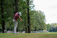 Justin Rose (ENG) in action on the 9th hole during the third round of the 76 Open D'Italia, Olgiata Golf Club, Rome, Rome, Italy. 12/10/19.<br /> Picture Stefano Di Maria / Golffile.ie<br /> <br /> All photo usage must carry mandatory copyright credit (© Golffile | Stefano Di Maria)