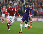 David Brooks of Sheffield Utd during the championship match at the Oakwell Stadium, Barnsley. Picture date 7th April 2018. Picture credit should read: Simon Bellis/Sportimage