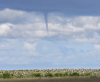 Forming water spout, Lundy, Devon