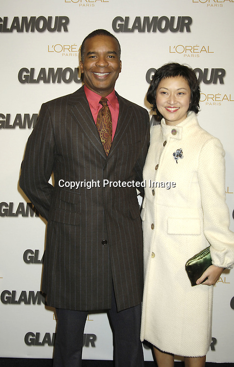 David Alan Grier and date..at The Glamour Magazine  2005 Women of the Year Awards on November 2, 2005 at Lincoln Center's Avery Fisher Hall...Photo by Robin Platzer, Twin Images
