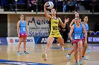 Pulse&rsquo; Karin Burger in action during the ANZ Premiership - Pulse v Steel at Te Rauparaha Arena, Porirua, New Zealand on Wednesday 30 May 2018.<br /> Photo by Masanori Udagawa. <br /> www.photowellington.photoshelter.com
