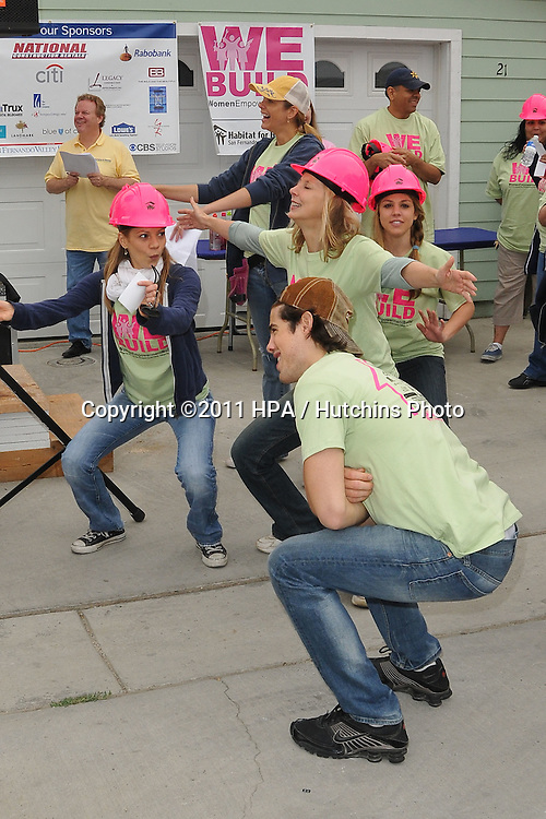 .Habitat for Humanity Women's Empowerment Build.12600 Carl Street.Pacoima, CA.May 14, 2011.©2011 Hutchins Photo....