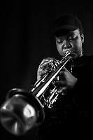 Sheila Maurice-Grey is a London based trumpeter and visual artist. Having take part in the Tomorrow&rsquo;s Warriors development programme founded by Gary Crosby OBE, Sheila is a core member of upcoming &lsquo;N&eacute;rija,&rsquo; who were recently nominated for Jazz FM Breakthrough Act of the year 2016. Sheila is also bandleader of afrobeat band &lsquo;KOKOROKO,&rsquo; and has performed with in KANO&rsquo;s live band on the &lsquo;Jool&rsquo;s Holland Show&rsquo; and &lsquo;The Mercury Prize.&rsquo;<br /> <br /> Central to Sheila&rsquo;s art practice, is stimulated by historical and iconic visual references known about the black female body and the notion of &lsquo;blackness&rsquo; throughout the 20th/21st century.<br /> Visually she tries to understand how historical facts known about Sarah Baartman (the Hottentot Venus) and The Minstrel Show interplay, as well as operate politically within media and the everyday.<br /> Sheila aims to question what it means to be misrepresented versus what it means to misrepresent.