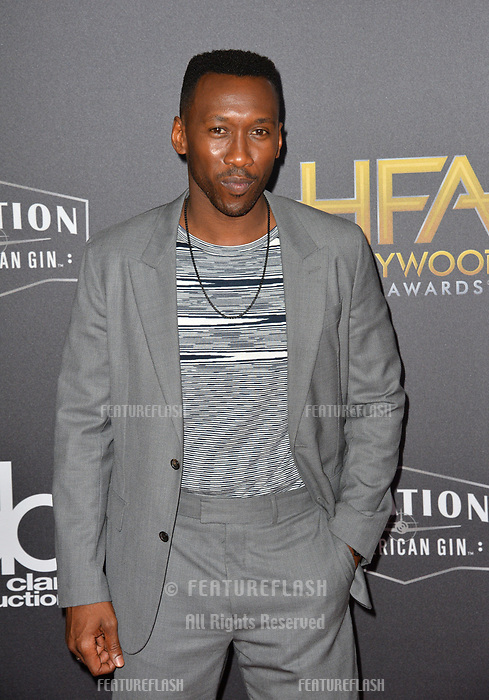 LOS ANGELES, CA. November 04, 2018: Mahershala Ali  at the 22nd Annual Hollywood Film Awards at the Beverly Hilton Hotel.<br /> Picture: Paul Smith/Featureflash