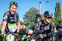 Picture by Alex Whitehead/SWpix.com - 09/09/2017 - Cycling - OVO Energy Tour of Britain - Stage 7, Hemel Hempstead to Cheltenham - Mark Cavendish, Michal Kwiatkowski.