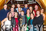 Staff from the Dungeon newsagents enjoying their christmas party in the Killarney Plaza Hotel on Friday night.
