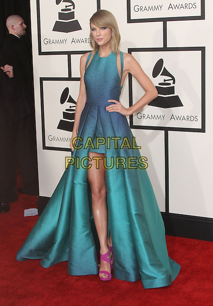 08 February 2015 - Los Angeles, California - Taylor Swift. 57th Annual GRAMMY Awards held at the Staples Center.<br /> CAP/ADM<br /> &copy;AdMedia/Capital Pictures