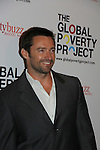 Hugh Jackman (host) in support of the launch of the Global Poverty Project's 1.4 Billion Reasons DVD on October 20. 2010 at New York City's Museum of Modern Art, NYC, NY. (Photo by Sue Coflin/Max Photos)
