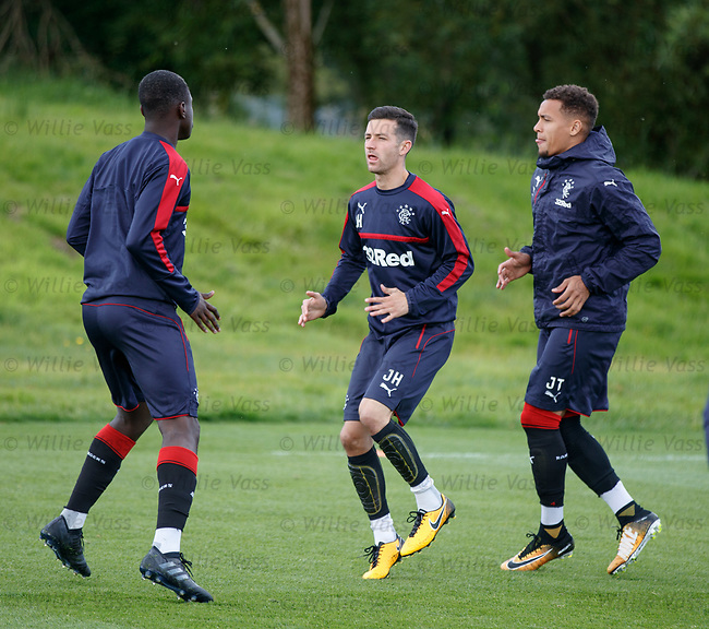 Jason Holt with Dalcio and James Tavernier