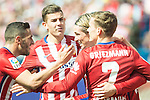 Atletico de Madrid's Fernando Torres, Antoine Griezmann during BBVA La Liga match. April 02,2016. (ALTERPHOTOS/Borja B.Hojas)