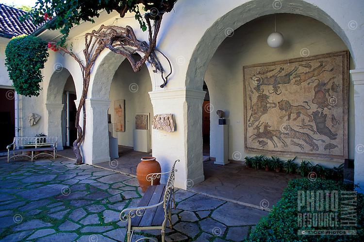 Courtyard at the Honolulu Academy of Arts, Honolulu