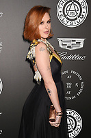SANTA MONICA, CA - JANUARY 06: Actress Rumer Willis arrives at the The Art Of Elysium's 11th Annual Celebration - Heaven at Barker Hangar on January 6, 2018 in Santa Monica, California.<br /> CAP/ROT/TM<br /> &copy;TM/ROT/Capital Pictures