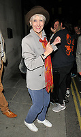 Anita Dobson at the &quot;Killer Joe&quot; press night departures, Trafalgar Studios, Whitehall, London, England, UK, on Monday 04 June 2018.<br /> CAP/CAN<br /> &copy;CAN/Capital Pictures