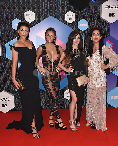 Elettra Lamborghini &amp; Super Shore co-stars<br /> 2016 MTV EMAs in Ahoy Arena, Rotterdam, The Netherlands on November 06, 2016.<br /> CAP/PL<br /> &copy;Phil Loftus/Capital Pictures /MediaPunch ***NORTH AND SOUTH AMERICAS ONLY***