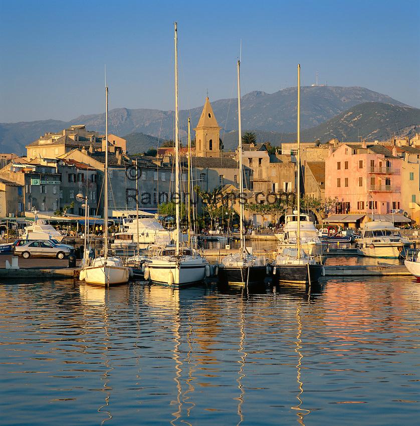 France, Corsica, St. Florent: Port De Plaisance   Frankreich, Korsika, St. Florent: Port De Plaisance