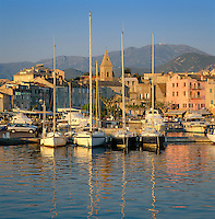 France, Corsica, St. Florent: Port De Plaisance | Frankreich, Korsika, St. Florent: Port De Plaisance