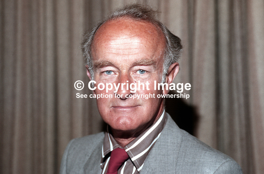 Lord Kennet, 2nd Baron, aka Wayland Hilton Young, Labour Party &amp; later SDP politician, at SDP conference 1984. 19840110LK.<br /> <br /> Copyright Image from Victor Patterson, 54 Dorchester Park, <br /> Belfast, UK, BT9 6RJ<br /> <br /> t1: +44 28 9066 1296 (from Rep of Ireland 048 9066 1296)<br /> t2: +44 28 9002 2446 (from Rep of Ireland 048 9002 2446)<br /> m: +44 7802 353836<br /> <br /> e1: victorpatterson@me.com<br /> e2: victorpatterson@gmail.com<br /> <br /> www.victorpatterson.com<br /> <br /> Please see my Terms and Conditions of Use at www.victorpatterson.com. It is IMPORTANT that you familiarise yourself with them.<br /> <br /> Images used on the Internet must be visibly watermarked i.e. &copy; Victor Patterson within the body of the image and copyright metadata must not be deleted. Images used on the Internet have a size restriction of 4kbs and will be chargeable at current NUJ rates unless advised otherwise.<br /> <br /> This image is only available for the use of the download recipient i.e. television station, newspaper, magazine, book publisher, etc, and must not be passed on to any third party. It is also downloaded on condition that each and every usage is notified within 7 days to victorpatterson@me.com<br /> <br /> The right of Victor Patterson to be identified as the author is asserted in accordance with The Copyright Designs And Patents Act (1988).