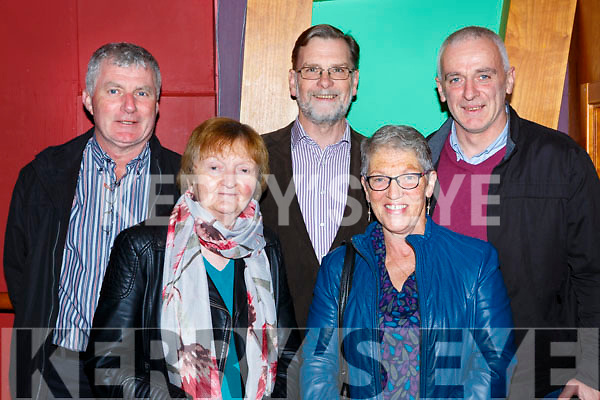 Noel Lucey, Maureen, Daly, Kathleen O'Brien and Billy Joy at the Padraig O'Keeffe festival all star concert in the River Island Hotel on Sunday night