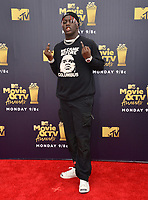 Lil Yachty  at the 2018 MTV Movie &amp; TV Awards at the Barker Hanger, Santa Monica, USA 16 June 2018<br /> Picture: Paul Smith/Featureflash/SilverHub 0208 004 5359 sales@silverhubmedia.com