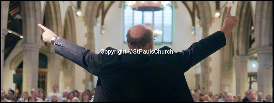 BNPS.co.uk (01202 558833)<br /> Pic: StPaulsChurch/BNPS<br /> <br /> Vicar Tony Hurle on the St Pauls, St Albans website.<br /> <br /> A church organist is leading a group of angry parishioners in a campaign to save a 110-year-old pipe organ, after church official's announced plans to replace it with 'evangelical space' and 'happy clappy' music. <br /> <br /> The historic instrument that has serenaded the congregation at St Paul's Church in St Albans, Herts, since 1910 is in danger of demolition due to a 'growing evangelical presence'.<br /> <br /> Within the last 20 years the face of the Edwardian church has changed, with pews being replaced with soft seating and the original layout being switched around. <br /> <br /> The Diocese of St Albans have now made an application to dispose of the organ and replace it with an electronic one, much to the dismay of traditional worshippers. <br /> <br /> One of the organists at St Paul's, Jonathan Humbert, has launched a campaign to save the beloved instrument - claiming that such 'happy clappy' modernisations are 'tearing the heart out of the Church of England'.