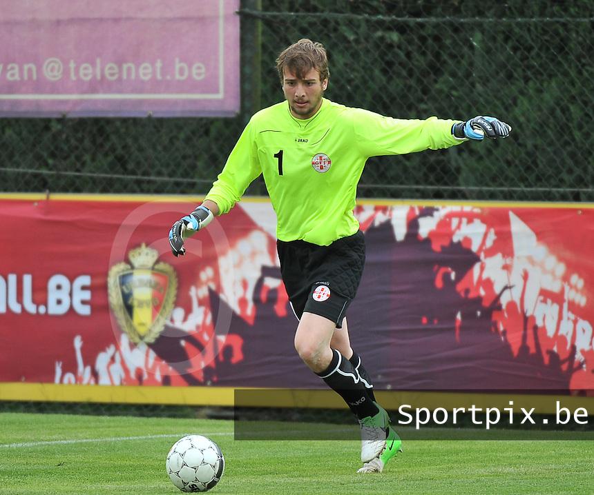 Scotland U19 - Georgia U19 : Gabriel Tebidze.foto DAVID CATRY / Nikonpro.be
